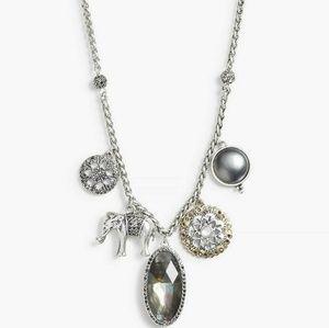Lucky Brand Elephant Charm Necklace